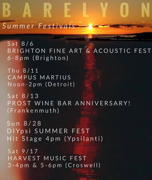 2016 summer festivals