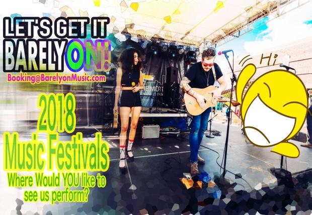 2018 music festival click bait!
