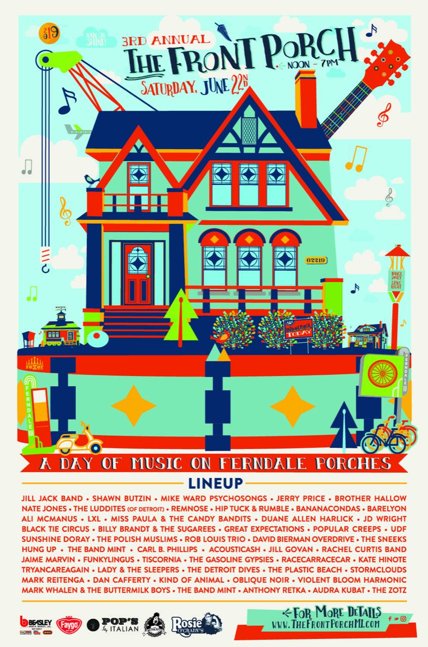 Front Porch Ferndale Poster rev3 5.6.19